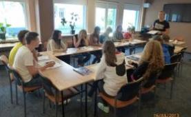Polish language camps in Poland